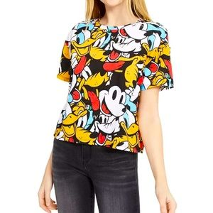 Disney Mickey Mouse & Friends Crop T-Shirt